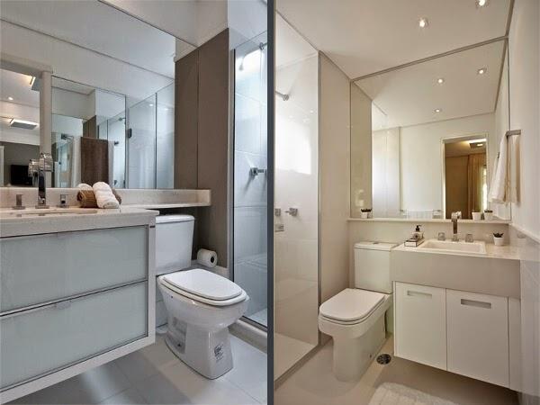 decoracao banheiro apartamento pequeno – Doitricom -> Banheiro Planejado Pequeno