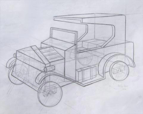 Ashley Walters' Art Blog: Sketching with Sketchup