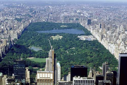 CENTRAL PARK - VISTA AÉREA
