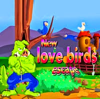 Juegos de escape New Love Birds Escape