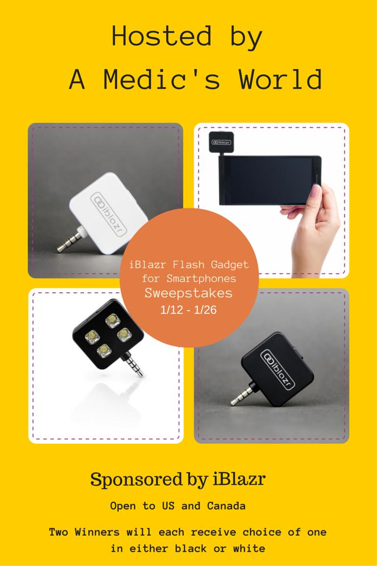 Enter the iBlazr Flash Gadget Giveaway. Ends 1/26.