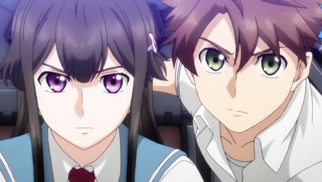 Buddy Complex - Anime Meccha dengan cerita romantis yang kental