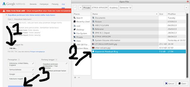 Cara Riset Keyword Paling Jitu Menggunakan Google Keyword Planner
