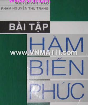 ham phuc, bai tap ham bien phuc, dau the cap, nguyen van khue, le mau hai, ham so bien so phuc, truong van thuong