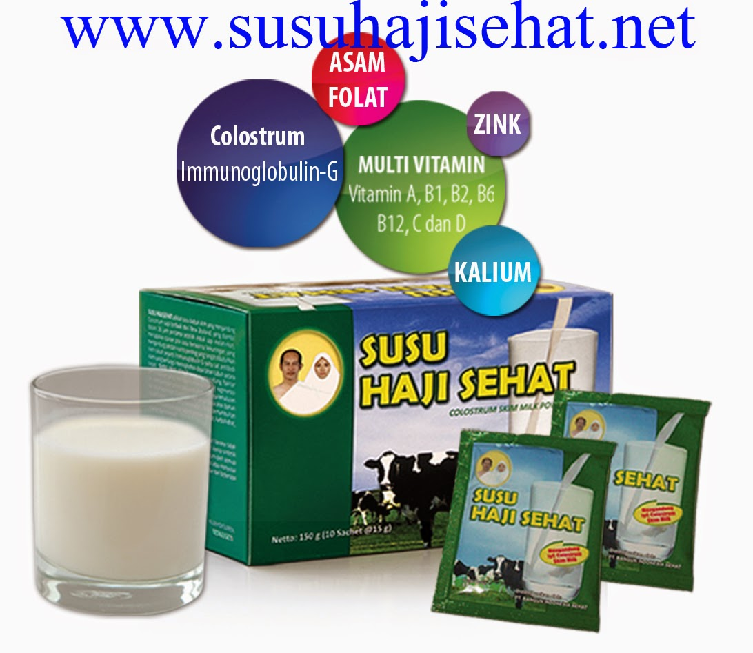 Susu Haji Sehat Mengandung Colostrum Sapi Terbaik