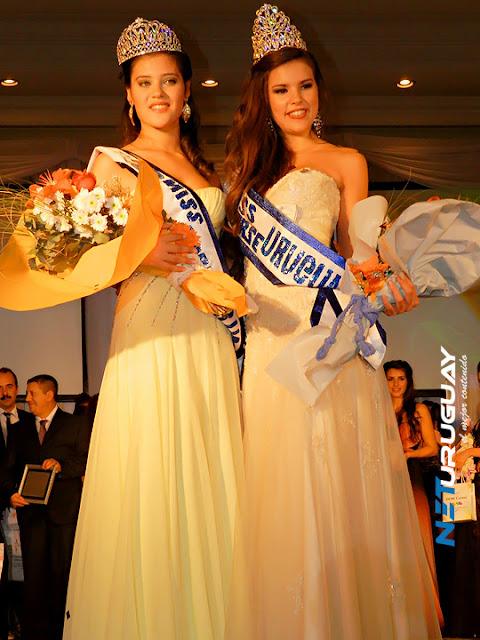 Miss Uruguay 2012 winners Camila Vezzoso Valentina Henderson