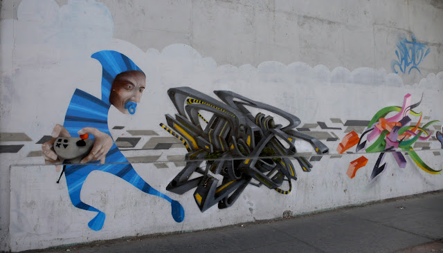 street art santiago de chile quinta normal arte callejero