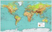 Quando estudamos na escola primária e começamos a perceber melhor o mundo . world map