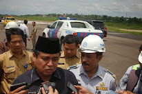 Bandara Sultan Thaha Jambi Gubernur Jambi Hasan Basri Agus