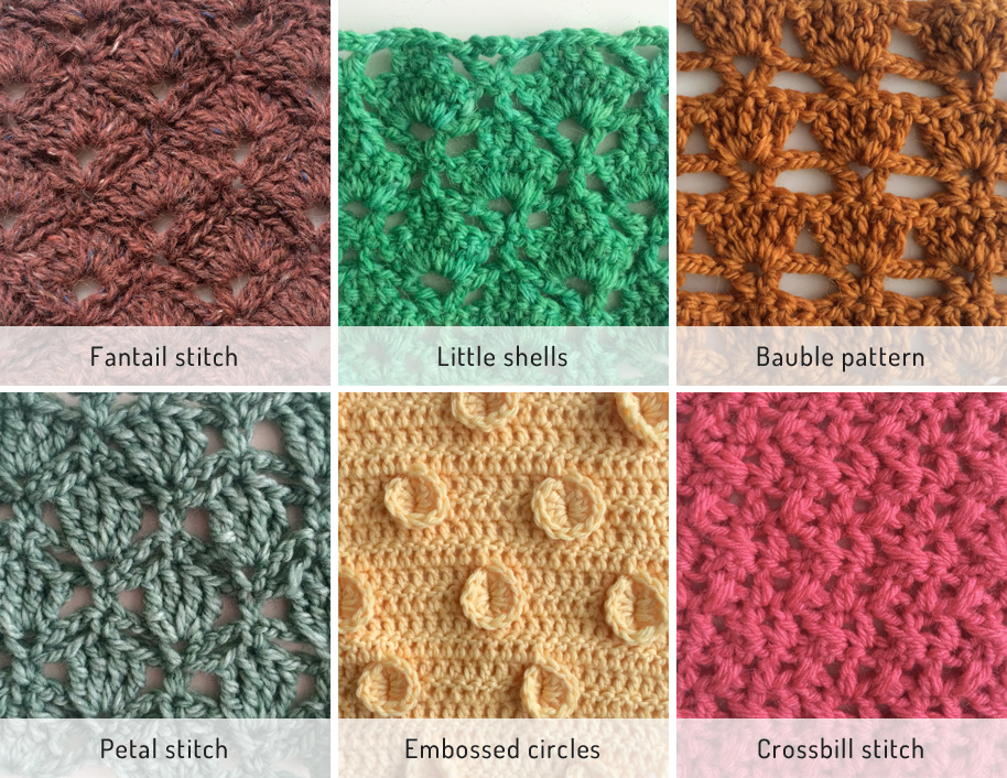 Crochet Stitches Library : ... tempted to go large and try out some more stitches though