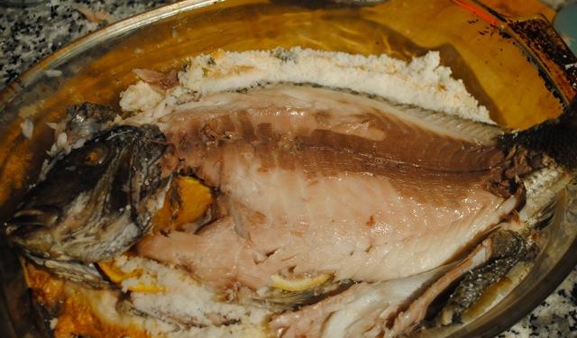 Окунь в соли в духовке рецепты