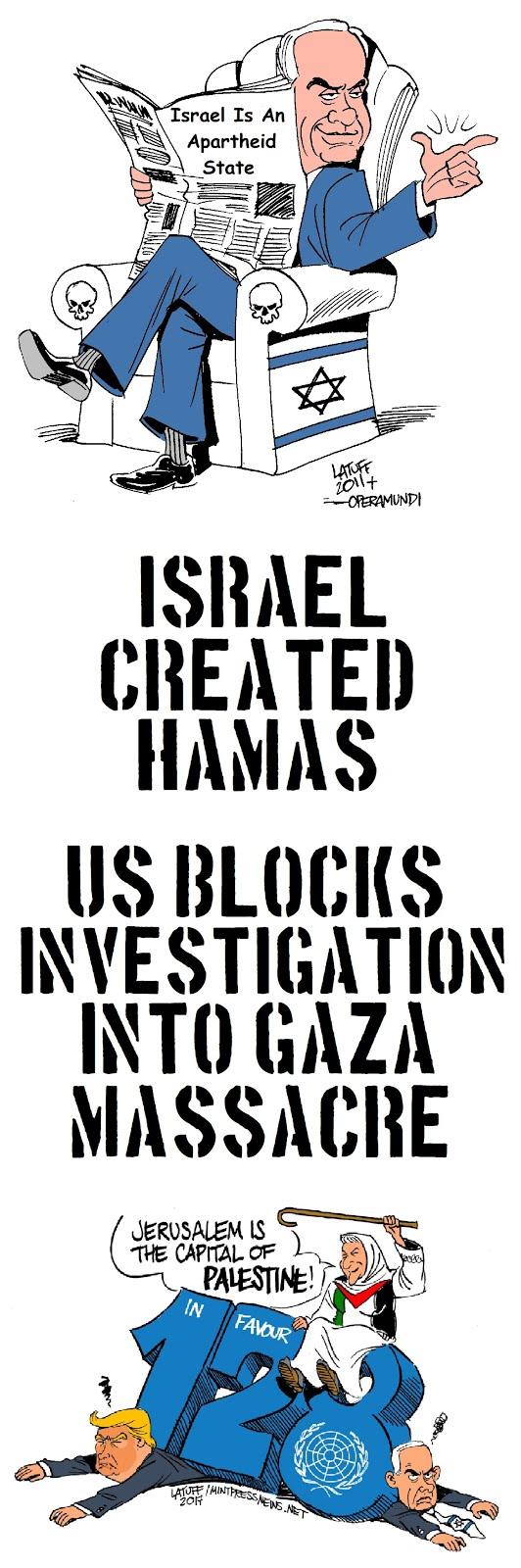 Israel Created Hamas?