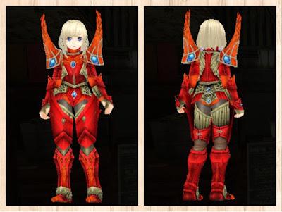蛮竜の鎧・赤1