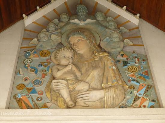 Image of Mary in Rangsit Catholic Church