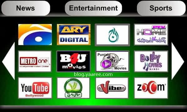 Live TV Channels HD Quality
