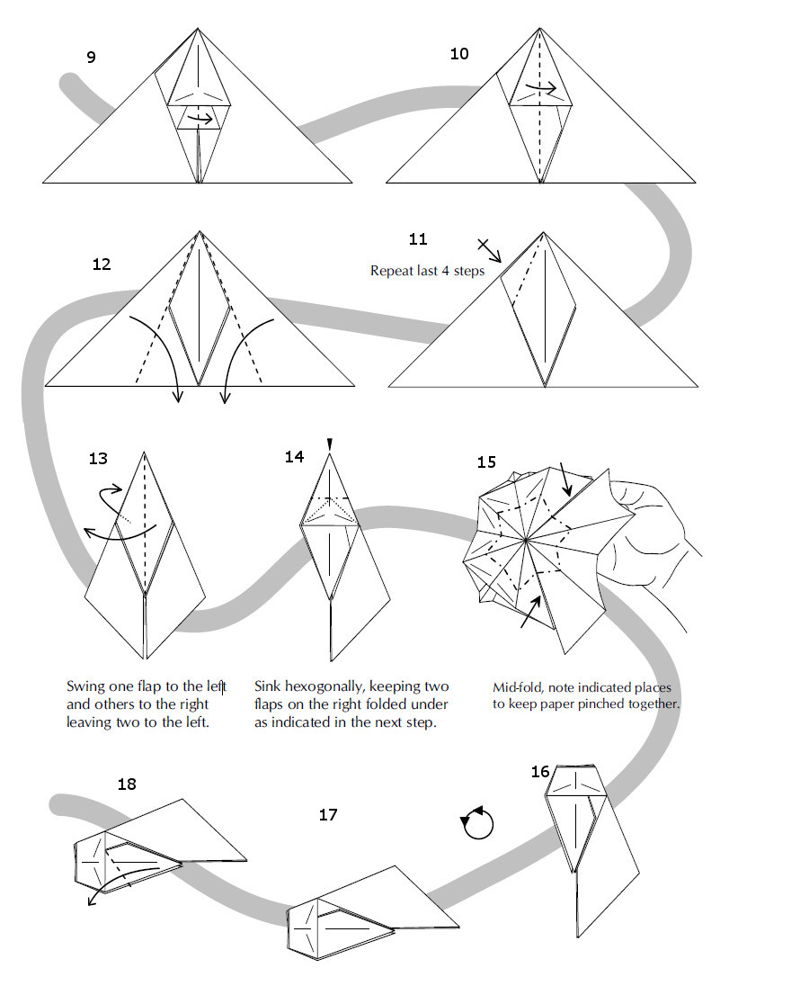 tutorial origami keren
