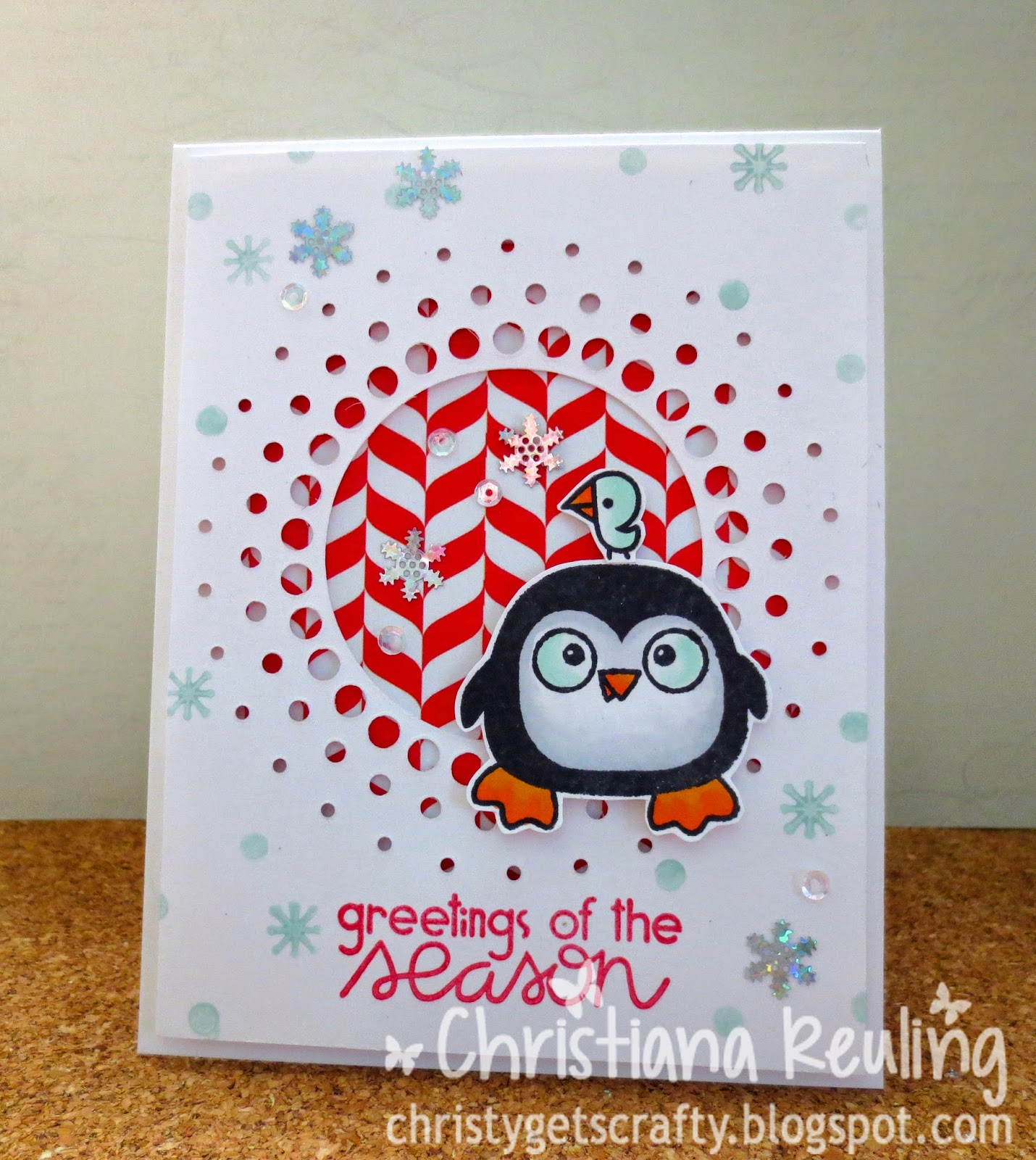Christy Gets Crafty Greetings Of The Season