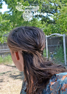 The no poo method for healthy, shiny hair - thecrunchymoose.com