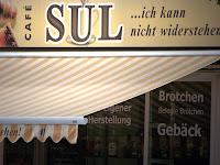 Frühstücken in Hamburg, Cafe Sul im Portugiesen Viertel Hamburg