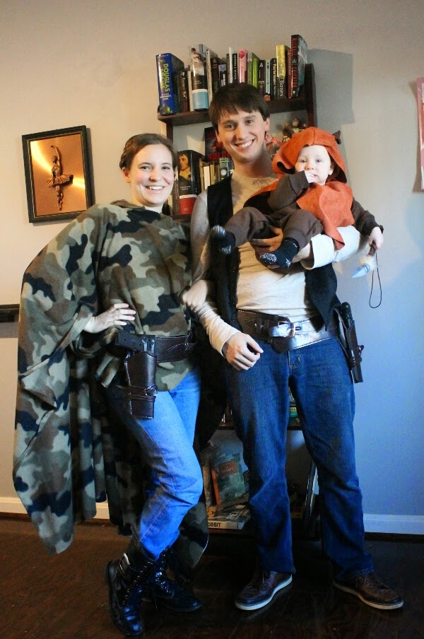 Our geeky adventure crafting adventures leia on endor halloween if your child naps for longer than an hour you can probably complete both this costume and the ewok costume together during one naptime solutioingenieria Gallery