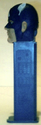 Left side of Captain America PEZ