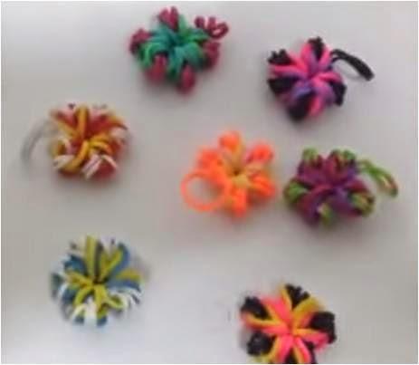 Cómo hacer florecillas de colores