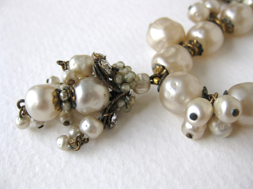 Vintage Miriam Haskell Vintage Pearl Bracelet: A Wish Comes True