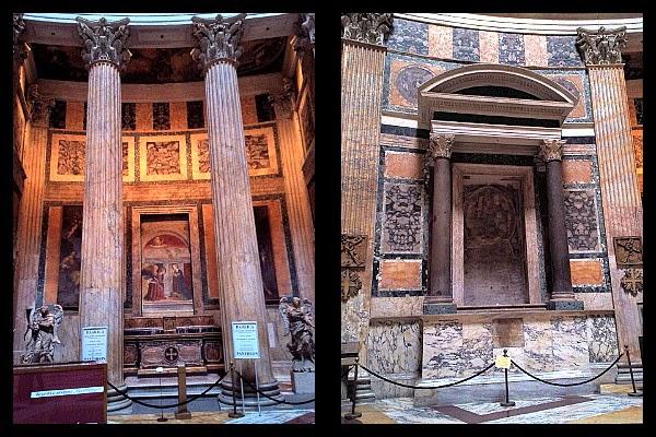fresk z XIV wieku w Panteonie
