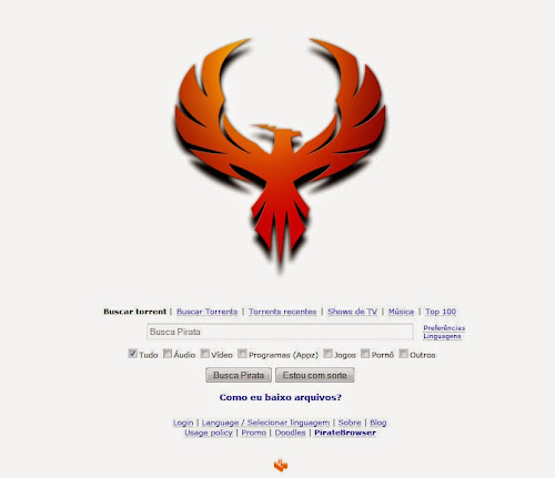 Pirate Bay voltou