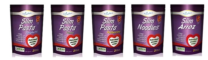 Variedades de Slim Pasta