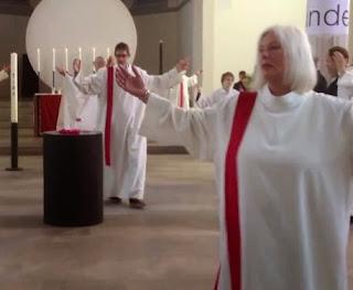 liturgical dancing