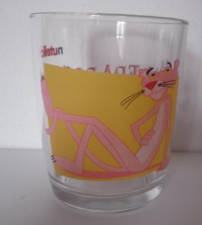 bicchiere Nutella Pantera Rosa