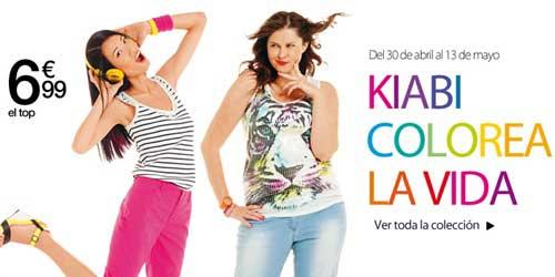 ropa de colores en kiabi