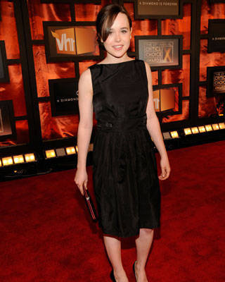 Ellen Page at the Critics' Choice Awards