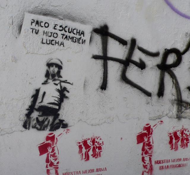 stencil art in santiago de chile educación