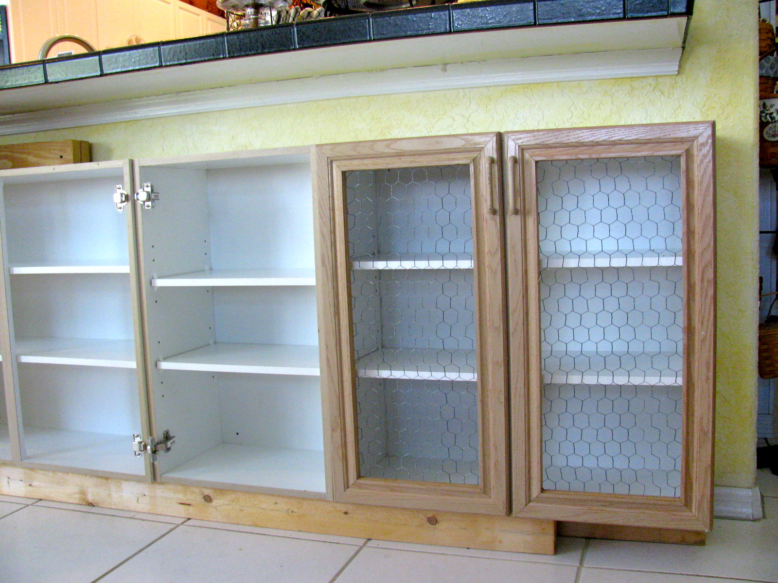 Chicken Wire Kitchen Cabinets - Nagpurentrepreneurs