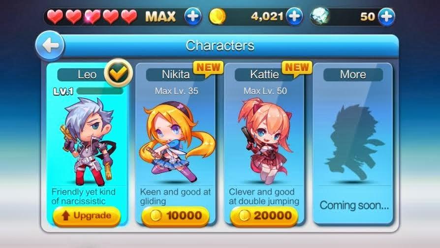 WeChat Gunz Dash characters