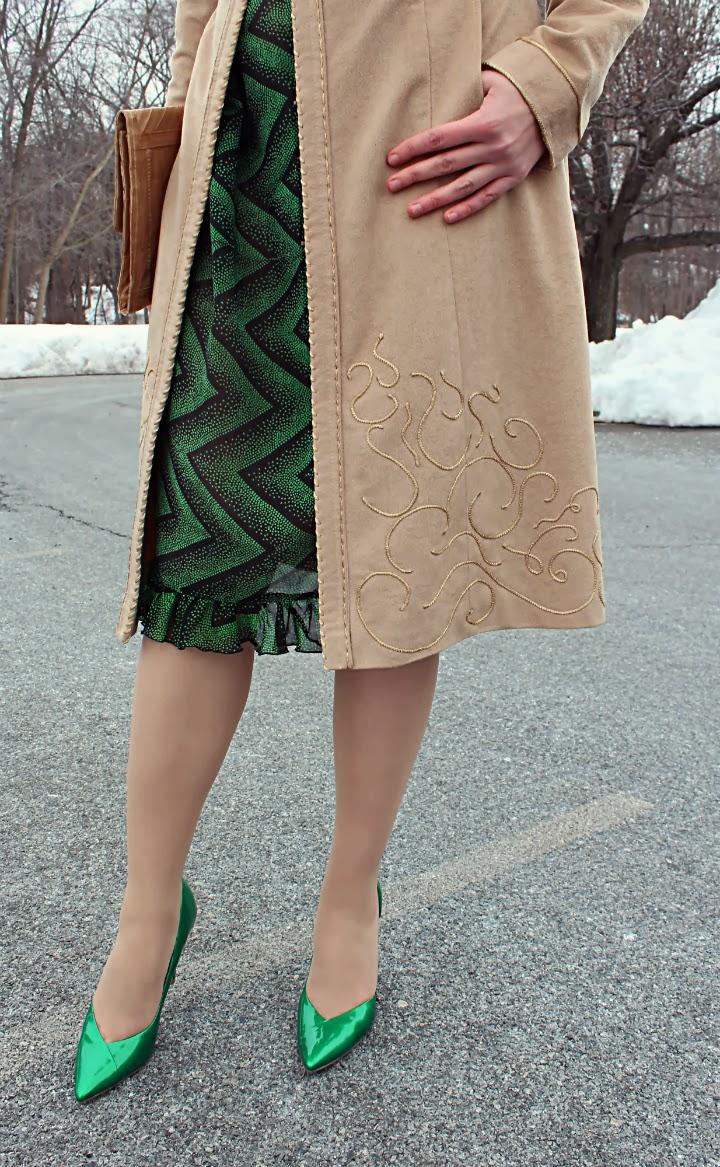 Embellished coat Roberto Cavalli