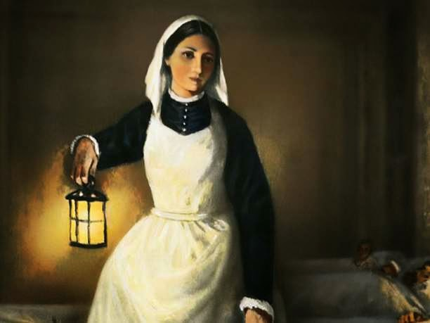 Eniaftos nurse florence nightingale biography for Florence nightingale lamp template