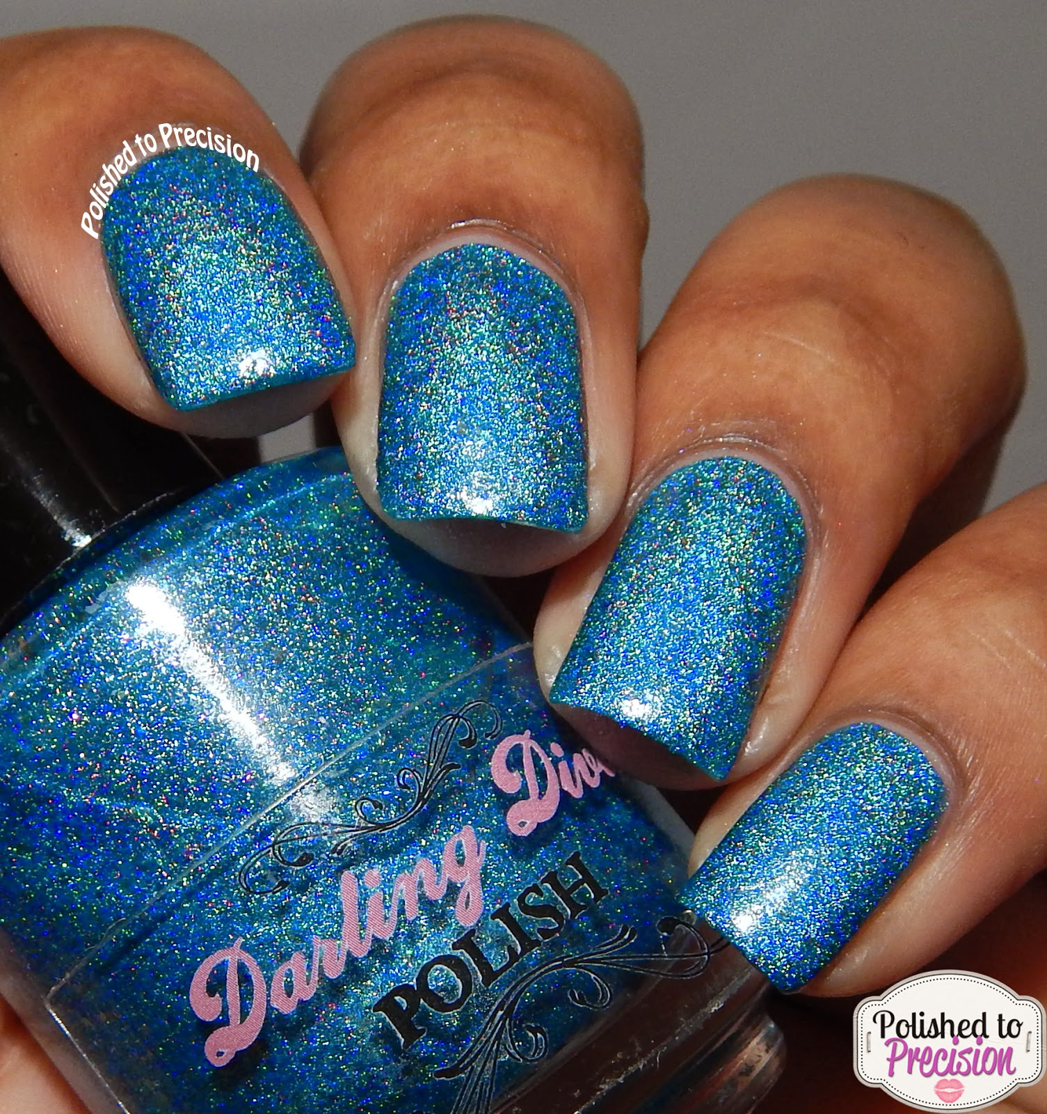 Darling Diva Polish Tina the Labradorite