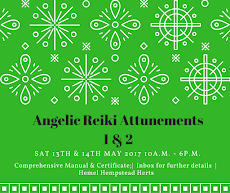 Angelic Reiki Attunements