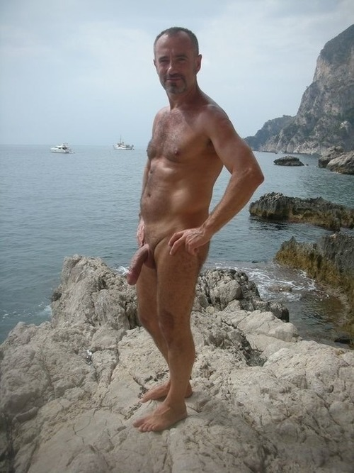 Nude Beach Men Naked