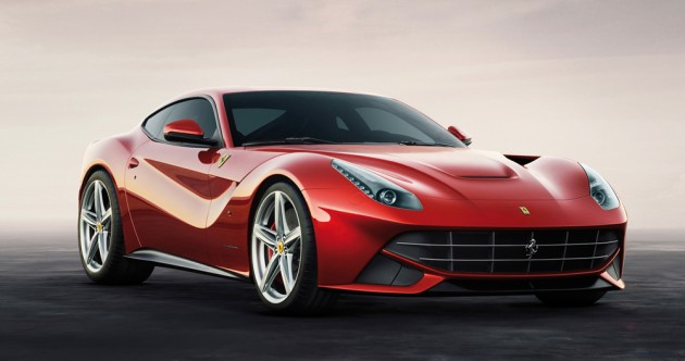 Opening the doors to a new generation of V12s: the F12berlinetta unveiled