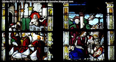 VEZELISE (54) - L'église Saint-Côme et Saint-Damien (Les Vitraux)