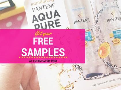 Jom dapatkan sampel produk secara percuma di Everyday Me!