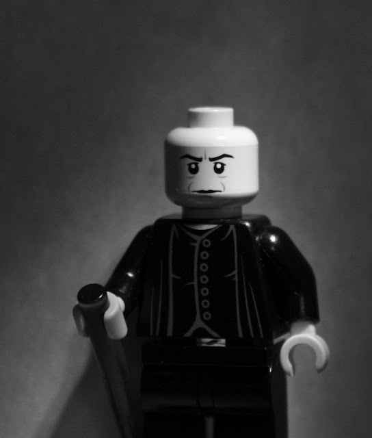 Yousuf Karsh's Winston Churchill portrait in LEGO