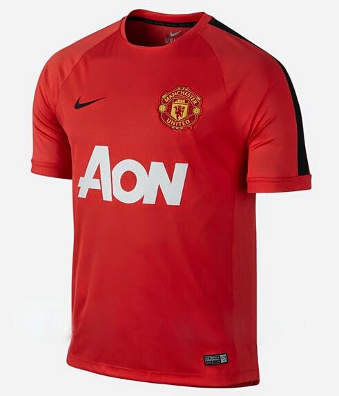 maillots de foot pas cher 2015 maillot d 39 entra nement manchester united rouge 2014 2015. Black Bedroom Furniture Sets. Home Design Ideas