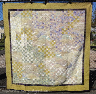 Haiku Quilt - front view