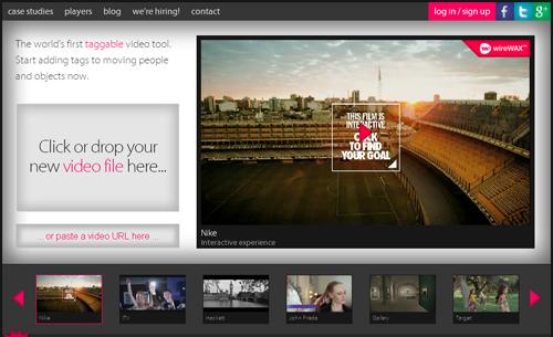crea vídeos gratis y online con WireWax - www.dominioblogger.com