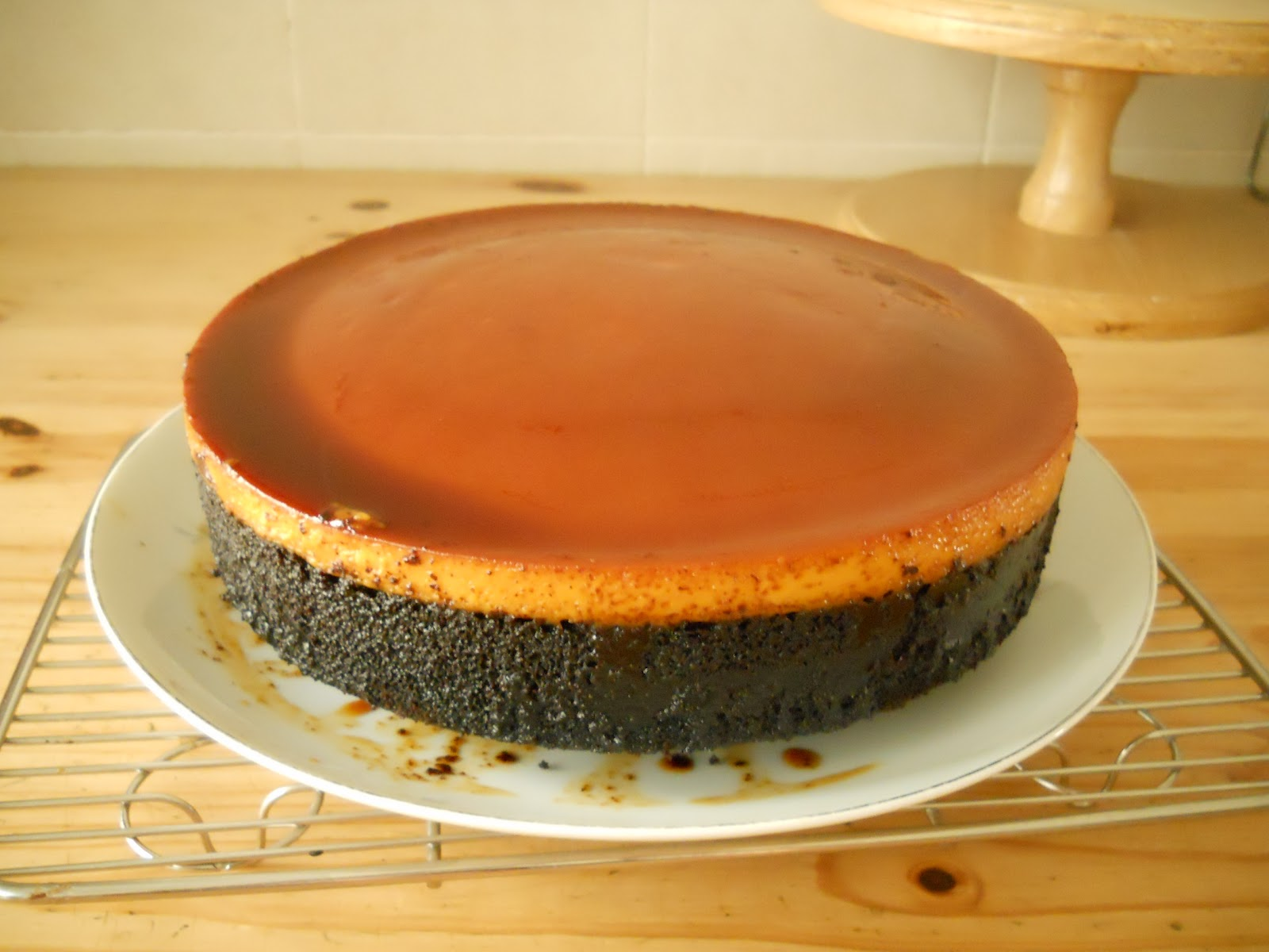 Cake With Chocolate Custard : THE BEST CAKES IN TOWN